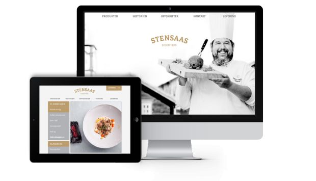 Webdesign for Stensaas Reinsdyrslakteri